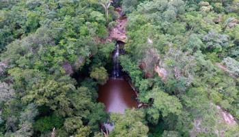 Cachoeira do Salto Liso, mais um espetáculo no município de Pedro II