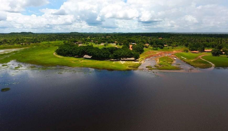 Barragem do Bezerro, a principal atração turística no município de José de Freitas