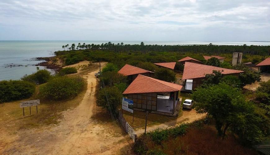 Projeto peixe-boi, em Cajueiro da Praia, um dos maiores abrigos desse animal