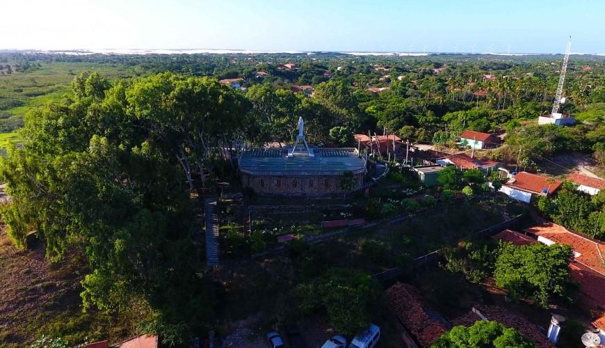 Santuário Mãe dos Pobres, roteiro obrigatório no município de Ilha Grande
