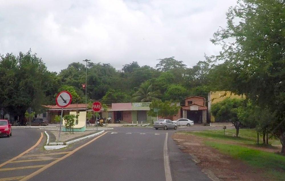 Rotatória da entrada da cidade de União